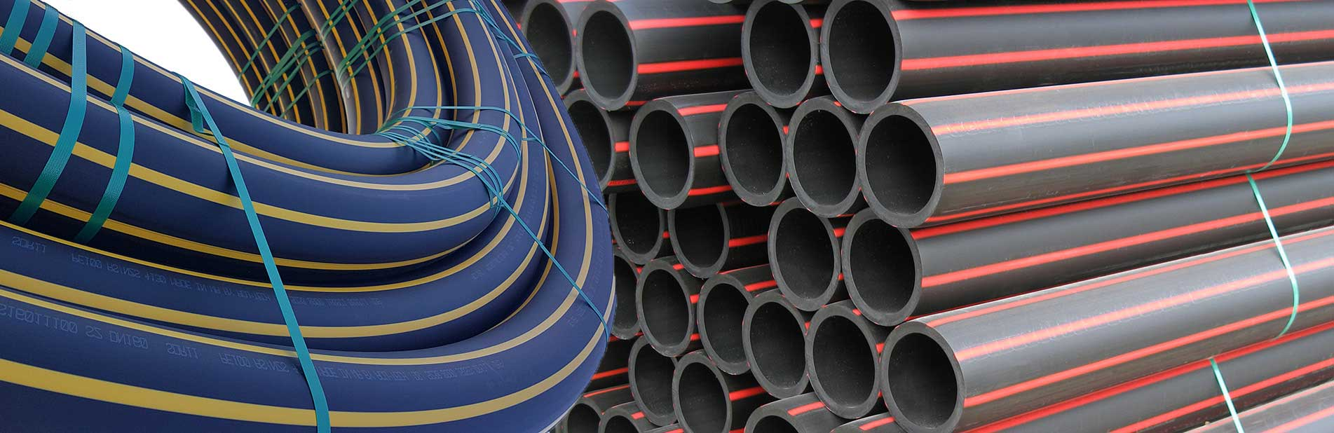 Acu-Tech's Poly Pipes are environmentally friendly - these HDPE enviropipes are more sustainable than using steel or concrete pipes.