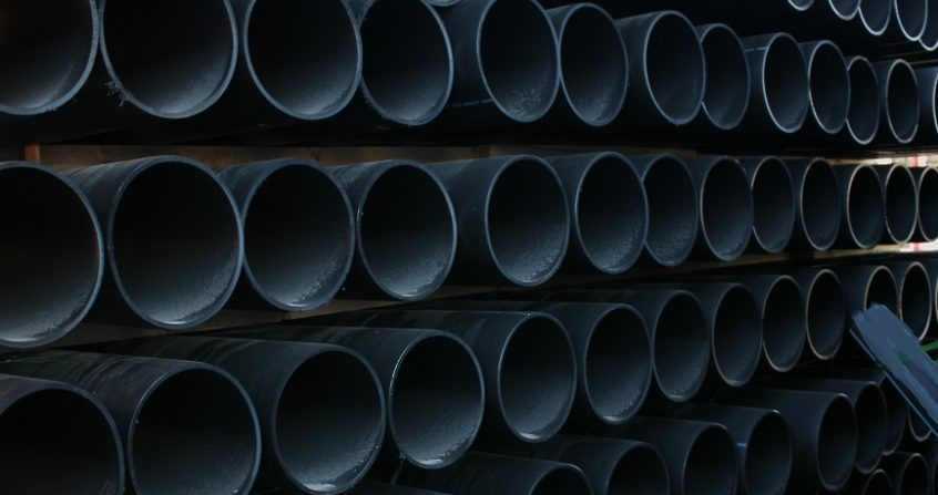 Acu-Drain large pipe - Sml