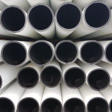 Acu-Therm HDPE white water pipes
