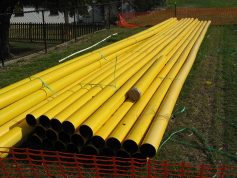 gas piping system