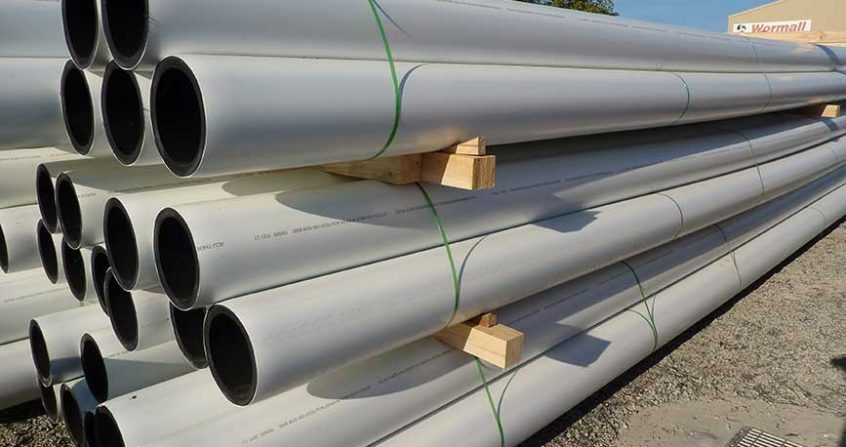 HDPE White Sunlight Reflecting Pipes