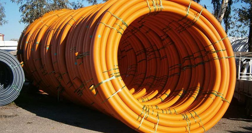 Acu-Tech Piping Systems sells HDPE electrical and communications conduit
