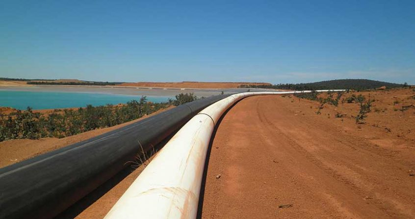HDPE pipes for the mining industry