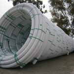 Acu-Tech Piping Systems supplies comm HDPE white coex conduit