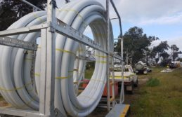 Acu-Comms Telecommunications Conduit on Site