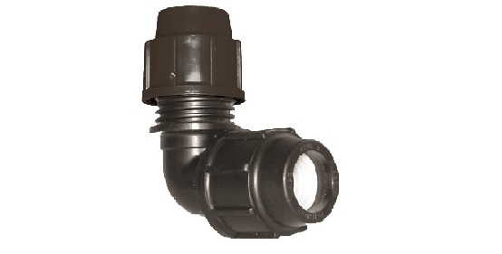 Compression Fitting Metric Elbow