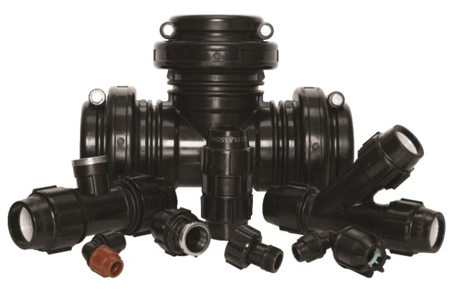 Acu-Tech sells Plasson HDPE Compression Fittings