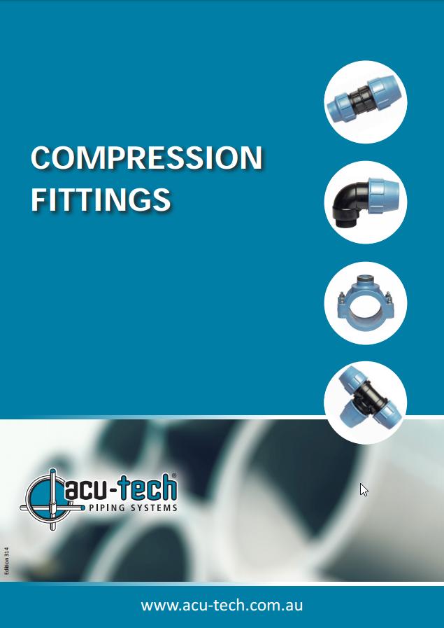 Compression fittingh
