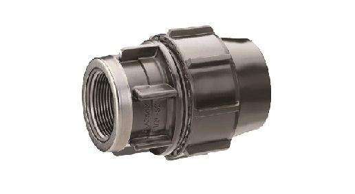PE Compression Fitting Female Adaptor