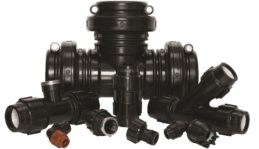 Group of Plasson HDPE Compression Fittings