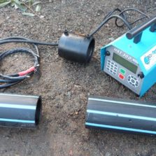 Electrofusion Pressure Welder on Site