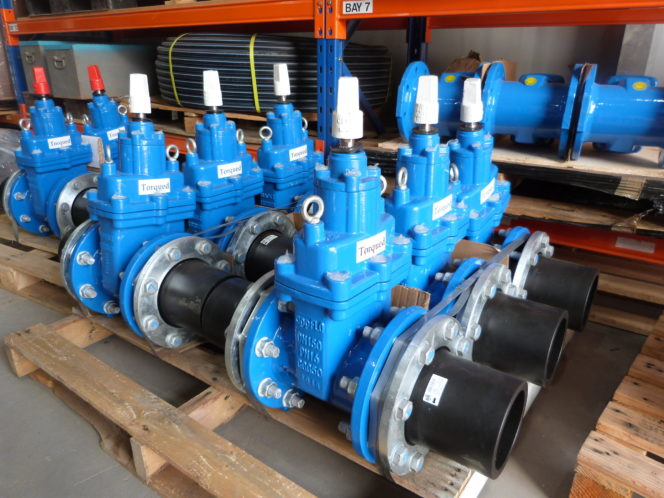 Pipe Valves Torqued Acu-Tech