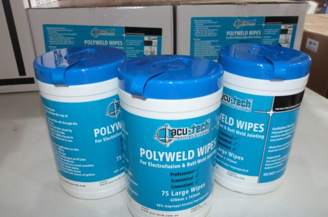 PolyWeld Wipes