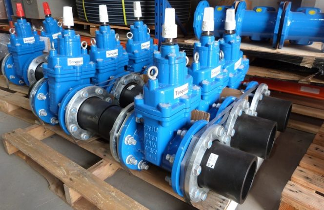 Acu-Tech Pipe Valves Torqued
