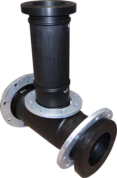 Acu-Tech Fabricated Pipe Fitting Custom Tee with Flanges