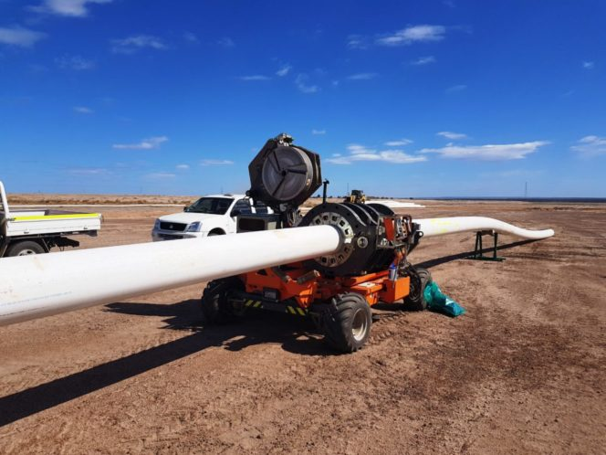 Acu-Tech Hire HDPE Pipe Welder
