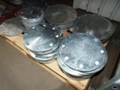 Steel Galvanised Blind Flanges for HDPE Pipes