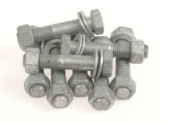 Acu-Tech supplies bolt sets and fasteners for HDPE Pipelines