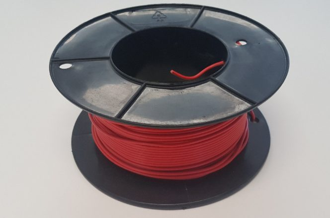 Detectable Wire for buried HDPE Gas Pipe – Sml