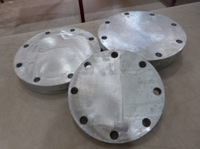 Galvanised Blind Flange – Sml