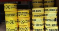 Gas Detectable Marking Tape - Sml