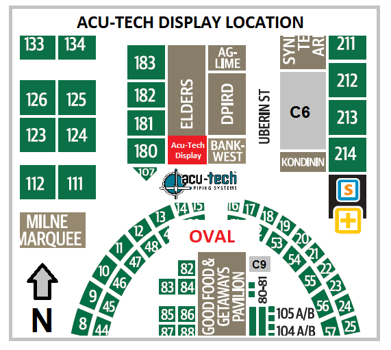 Acu-Tech Location at Dowerin Field Day