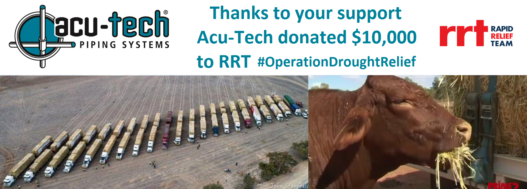 Acu-Tech Supports RRT Drought Relief Effort