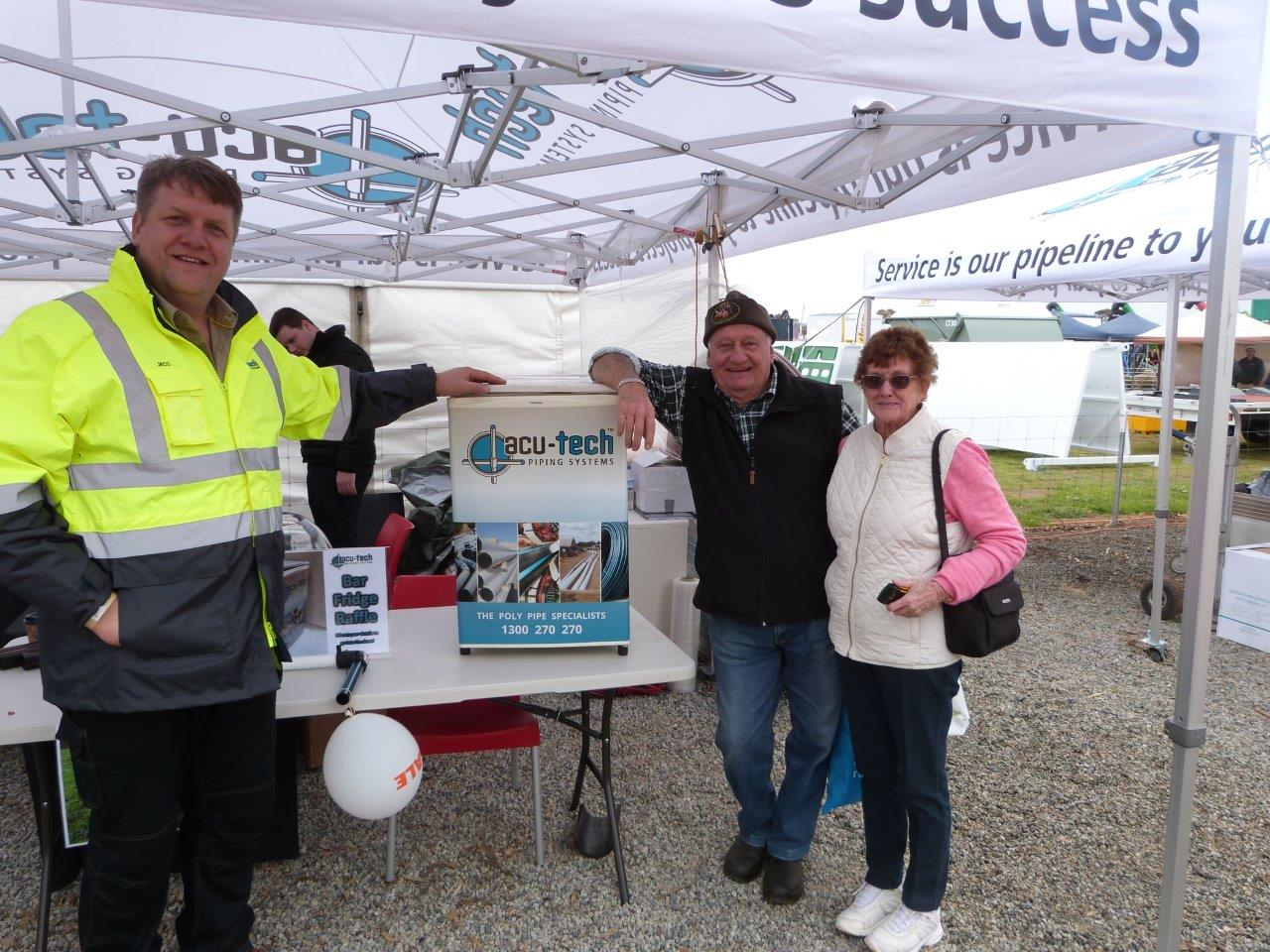 Acu-Tech at Dowerin Field Day - Rural PE Compression Fittings, Poly Compression Fittings, Poly Hand Fittings