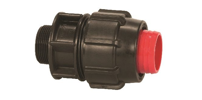 Rural Compression Fitting Male Threaded Adaptor