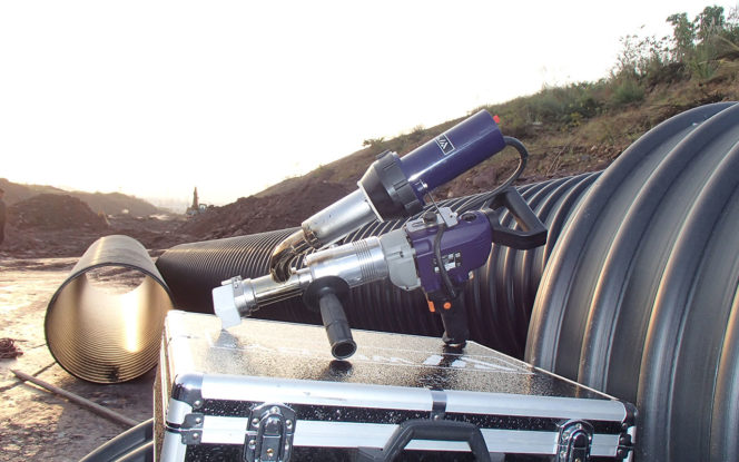 Acu-Tech Sells HDPE Poly Welding Extrusion Guns