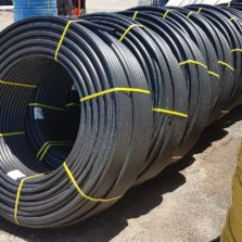 HDPE Communications subduct - SUBDUCT HDPE Black 32mm pipe coil for internal subduct. Known as Telstra subduct, NBN Subduct or Optus subduct.
