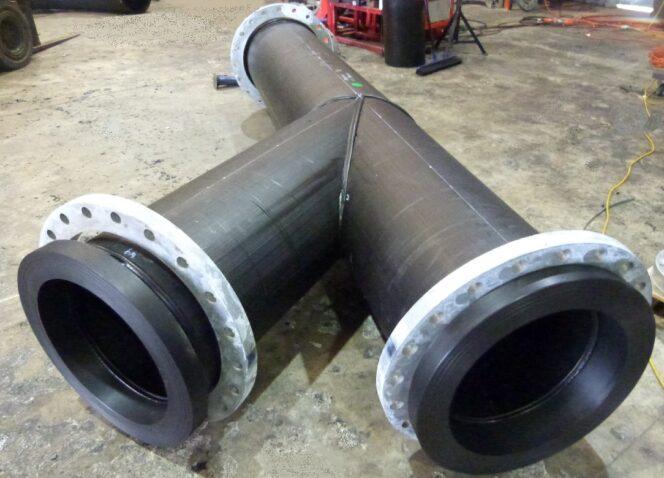 Large HDPE Fabricated Custom Poly Spools