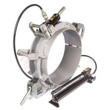 Re-rounding clamp pneumatic
