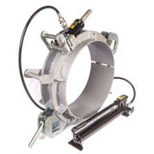 Re-rounding clamp pneumatic
