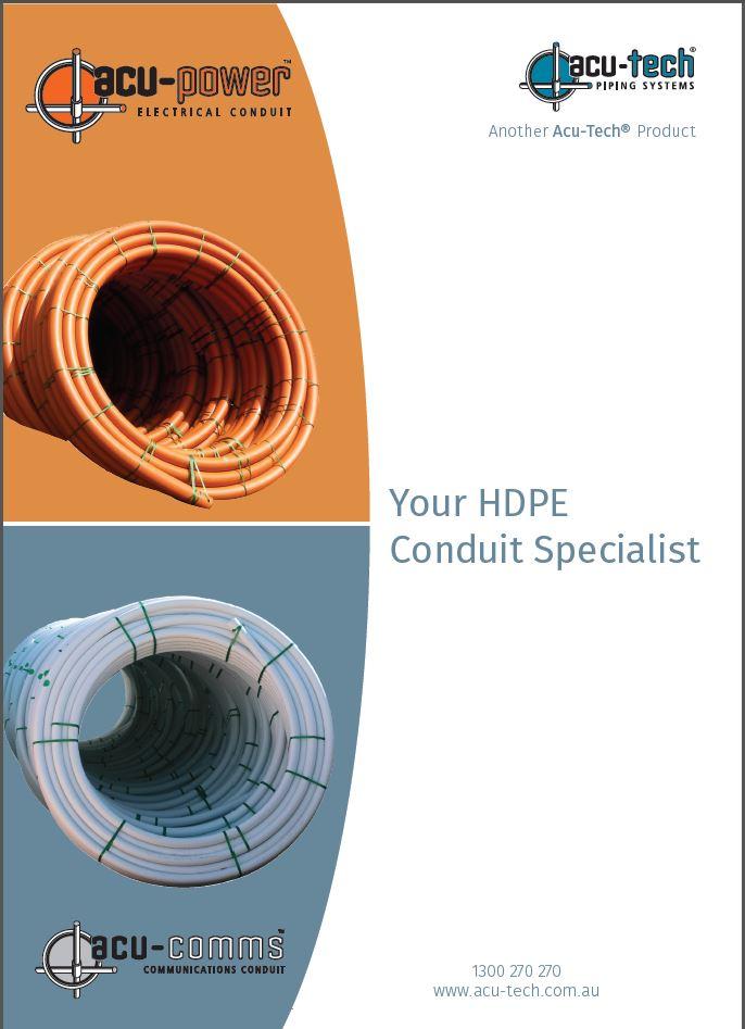 Conduit Brochure cover