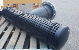 HDPE Sieve Poly Strainer - HDPE Pipe Filter (4) - Sml