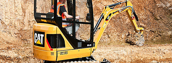 Cat Excavator for Hire in Perth by Acu-Tech