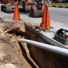 Directional Drilling of HDPE Pipes