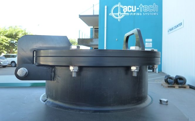 Acu-Tech manufactures Custom Made Polyethylene Tanks