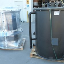 Acu-Tech manufactures Custom Made Polyethylene Tank - Sml