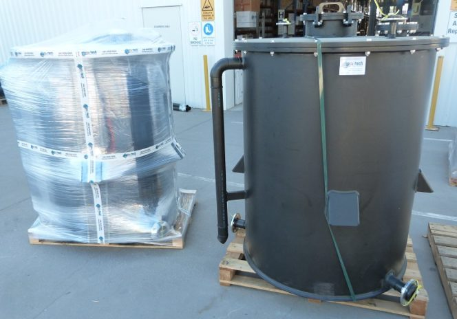 Custom Made Polyethylene Tank – Sml