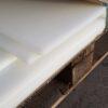 HDPE poly sheet white – Sml