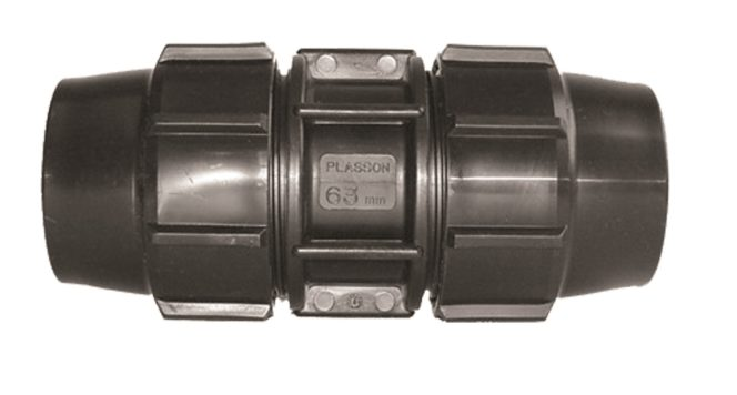 Compression Fitting Metric Coupling