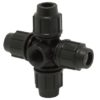 Cross – with threaded Female Offtake Compression Fitting