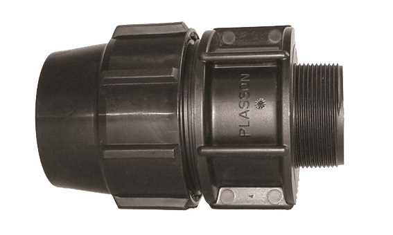 Male Adaptor Compression Fitting