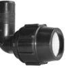 Metric Elbow Adaptor Compression Fitting