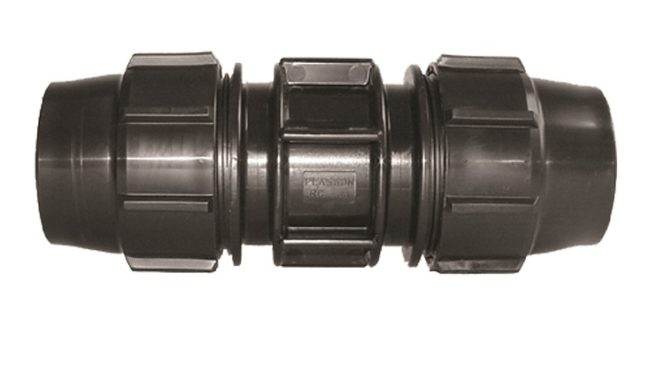 Slip-Repair Coupling Compression Fitting