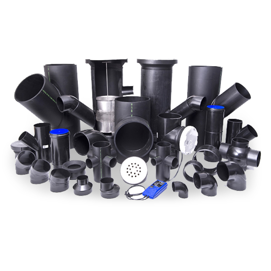 hdpe drainage pipe and fittings